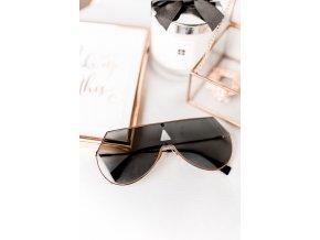 Sonya -  okuliare v čierno-zlatej farbe