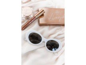 Biele slnečné okuliare Miami