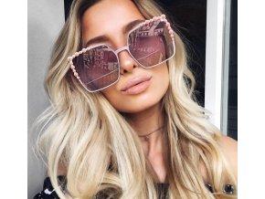 Slnečné okuliare Tami - ružová