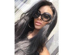 Čierne slnečné okuliare Miami