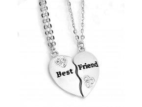 Retiazky Best Friend v striebornej farbe