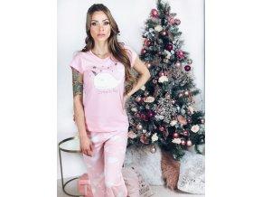Svetlo-ružové pyžamo Dream Big