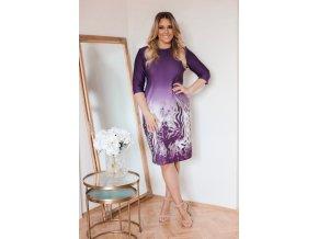 Fialové šaty