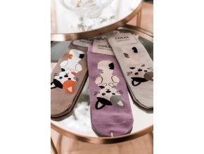 Set troch ponožiek Kitty