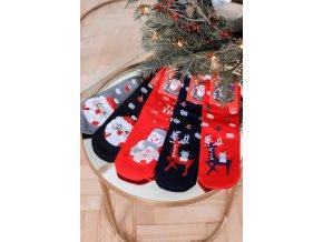 Set piatich párov ponožiek Christmas