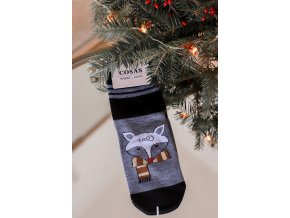 Dámske ponožky Fox - čierna