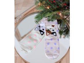 Set dvoch párov ponožiek s Mačiatkom