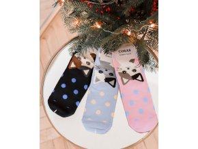 Set troch párov ponožiek s Mačiatkom