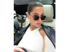 Čierne slnečné okuliare Zoya