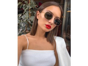 Slnečné okuliare s tmavými sklami Olivia