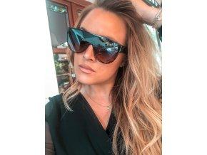 Hnedé slnečné okuliare Siena