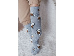 Veselé ponožky pre milovníkov zmrzliny