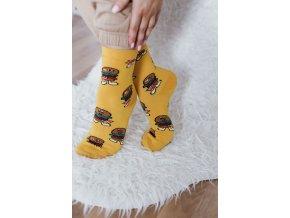 Veselé ponožky Burger