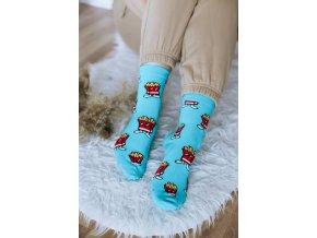 Veselé ponožky Hranolky