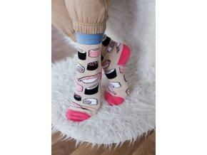 Veselé ponožky Sushi
