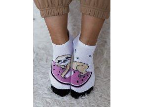 Kotníkové ponožky Leňochod