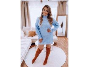 svetrové šaty