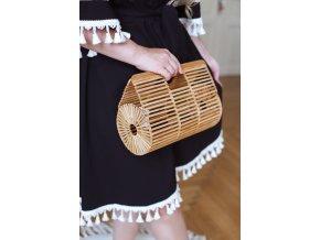 Bambusová kabelka do ruky