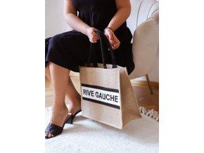 Ľanová taška do ruky RIVE GAUCHE