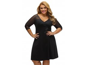 Plus Size Sugar and Spice Dress LC60671 1
