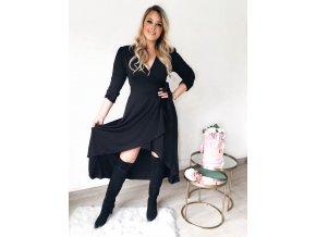 čierne šaty xl
