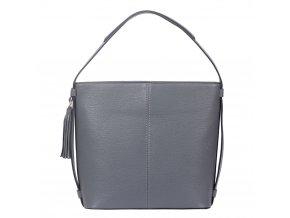 Tmavo-sivá kabelka na rameno