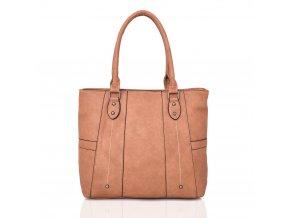 Hnedá kabelka na rameno