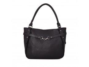 Dámska kabelka v čiernej farbe