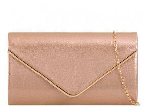 Zlatá večerná kabelka