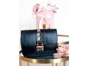 Čierno-zlatá kabelka Chloe