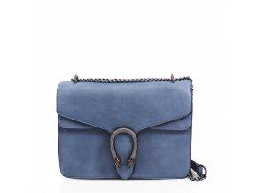 Modrá kabelka na rameno Olivia