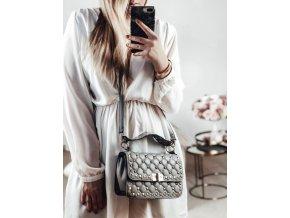 Svetlo sivá dámska kabelka