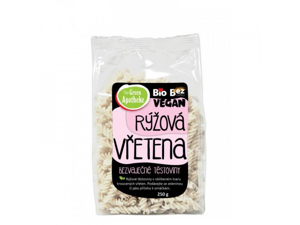 Green Apotheke Vřetena rýžová s tapiokou Bio 250 g