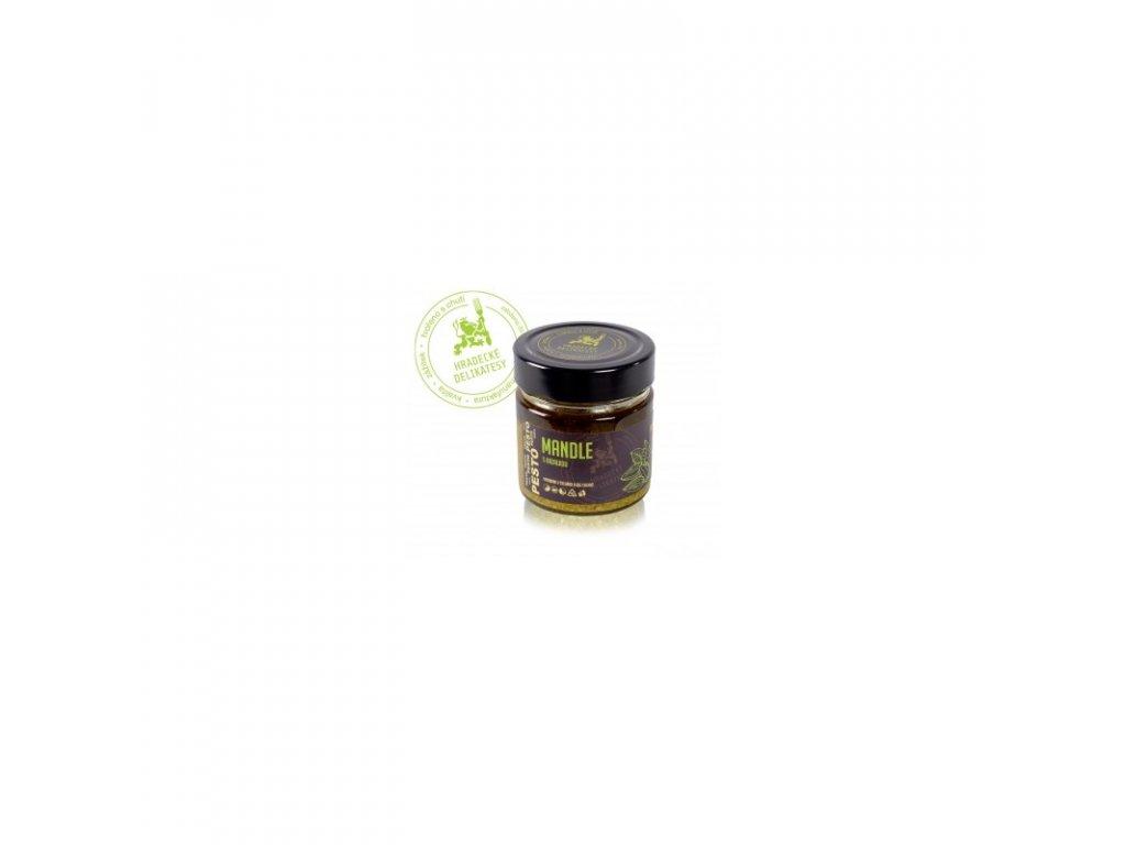 Hradecké delikatesy Pesto z mandlí s bazalkou 100 g