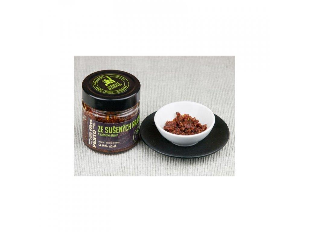 Hradecké delikatesy Pesto ze sušených rajčat San Marzano 100 g