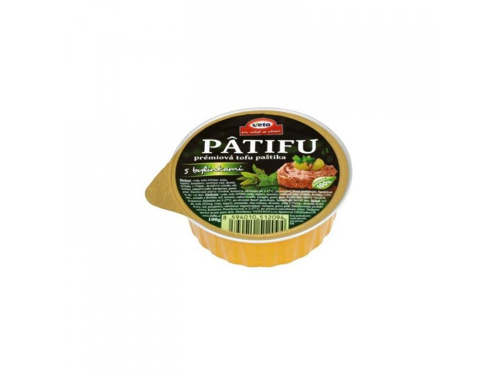 Patifu Paštika s bylinkami 100 g