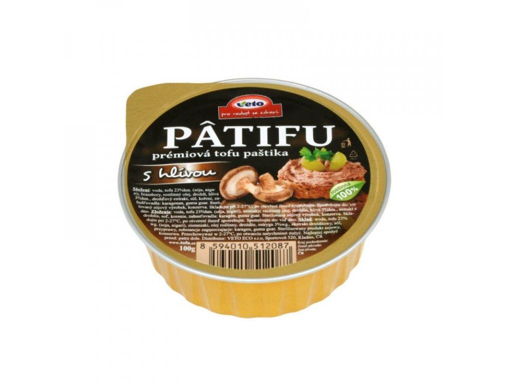 Patifu Paštika s hlívou 100 g