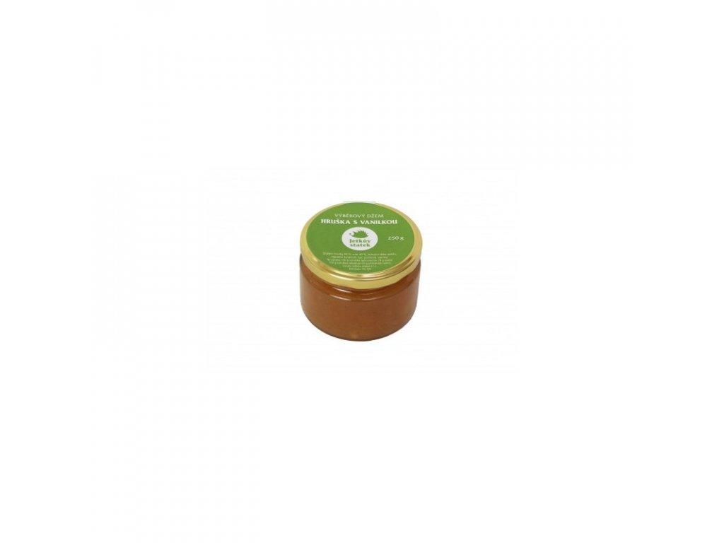 Ježkův Statek Výběrový džem hruška s vanilkou 250 g