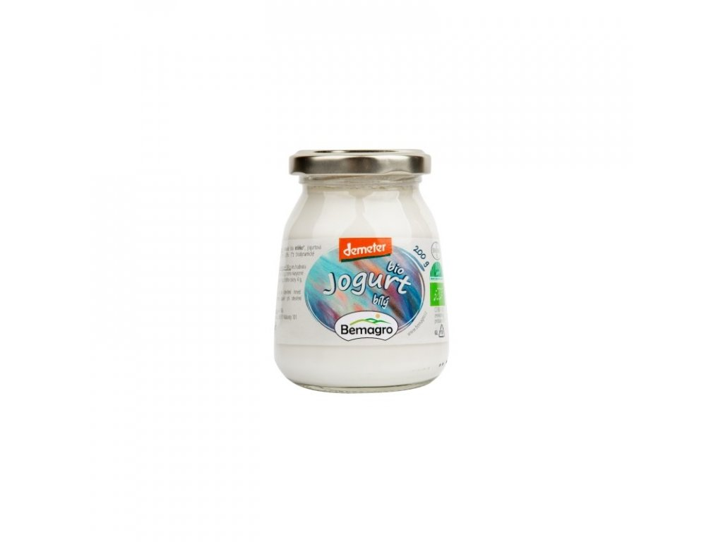 bemagro bio bily jogurt 200 g