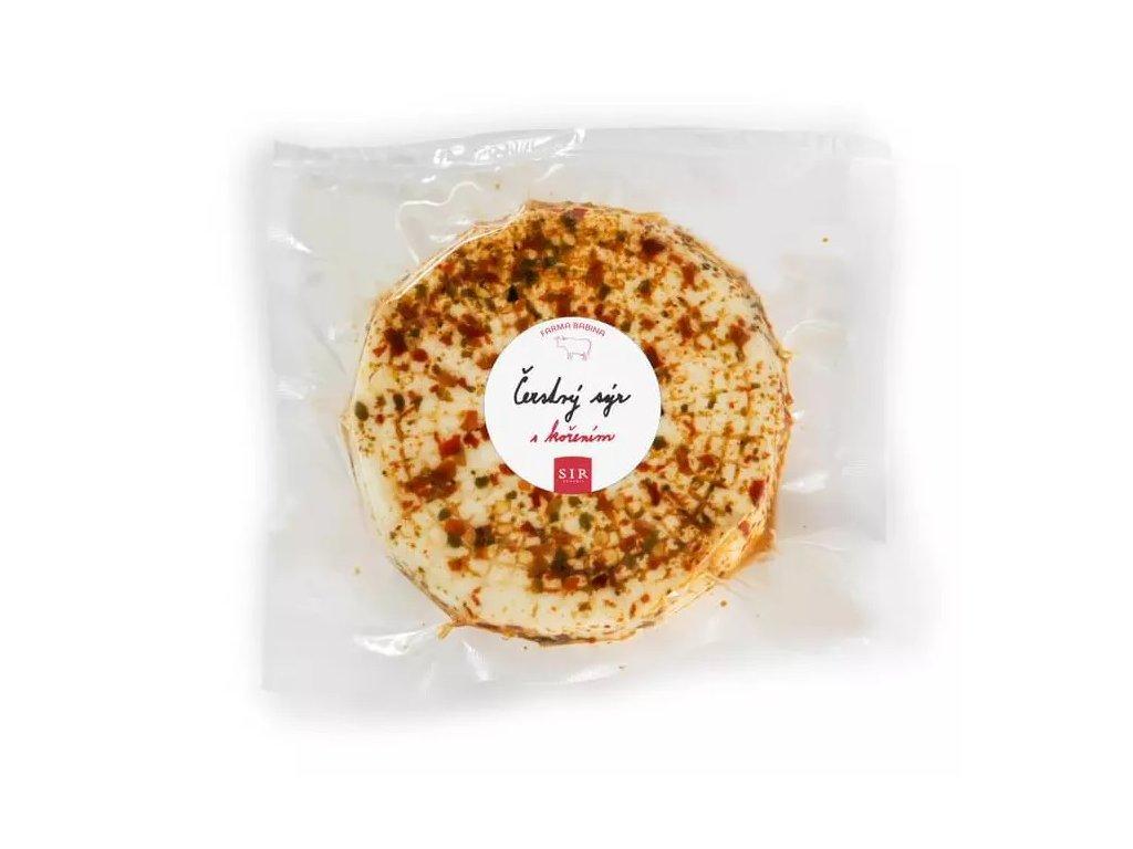 Sýr čerstvý různé druhy cca 150 g Mlékárna Babina