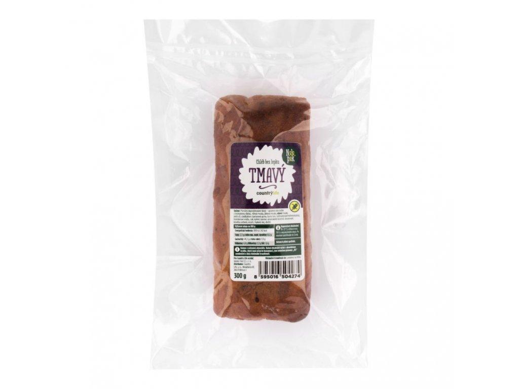 Chléb tmavý bez lepku 300 g Nelepek