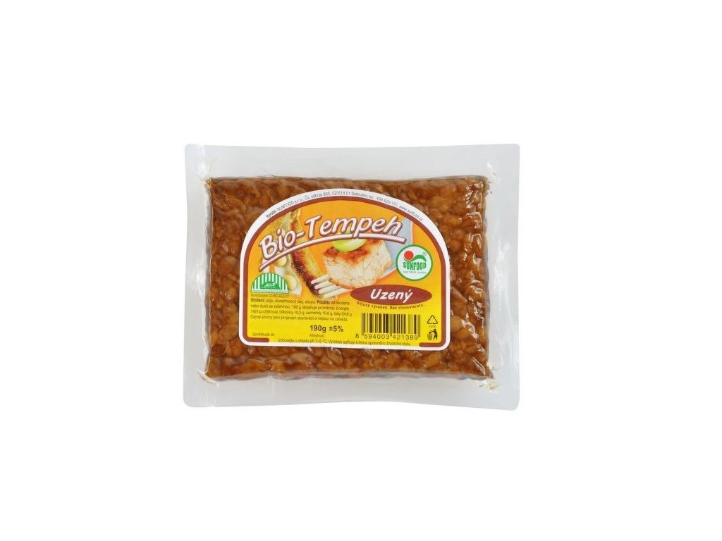 tempeh uzeny sunfood bio 190 g