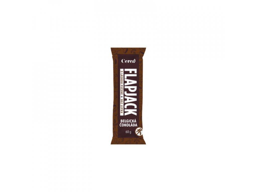 Cerea Ovesná tyčinka flapjack bezlepkový belgická čokoláda 60 g