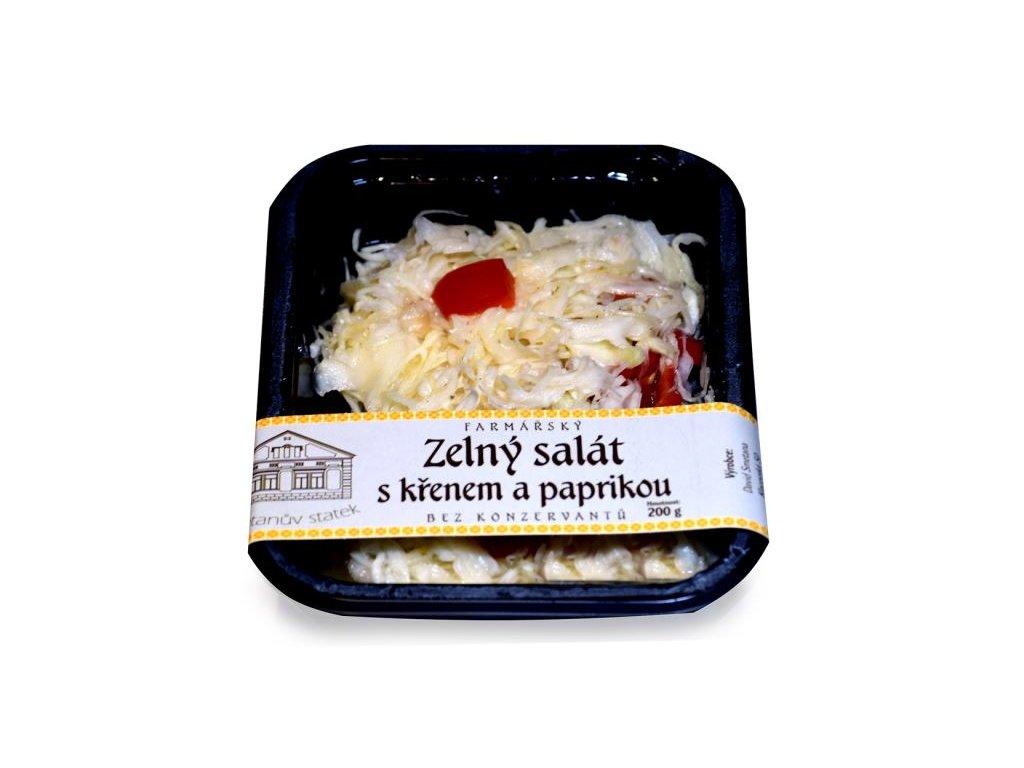 zelny salat s krenem a paprikou 200g pro zeny dieta