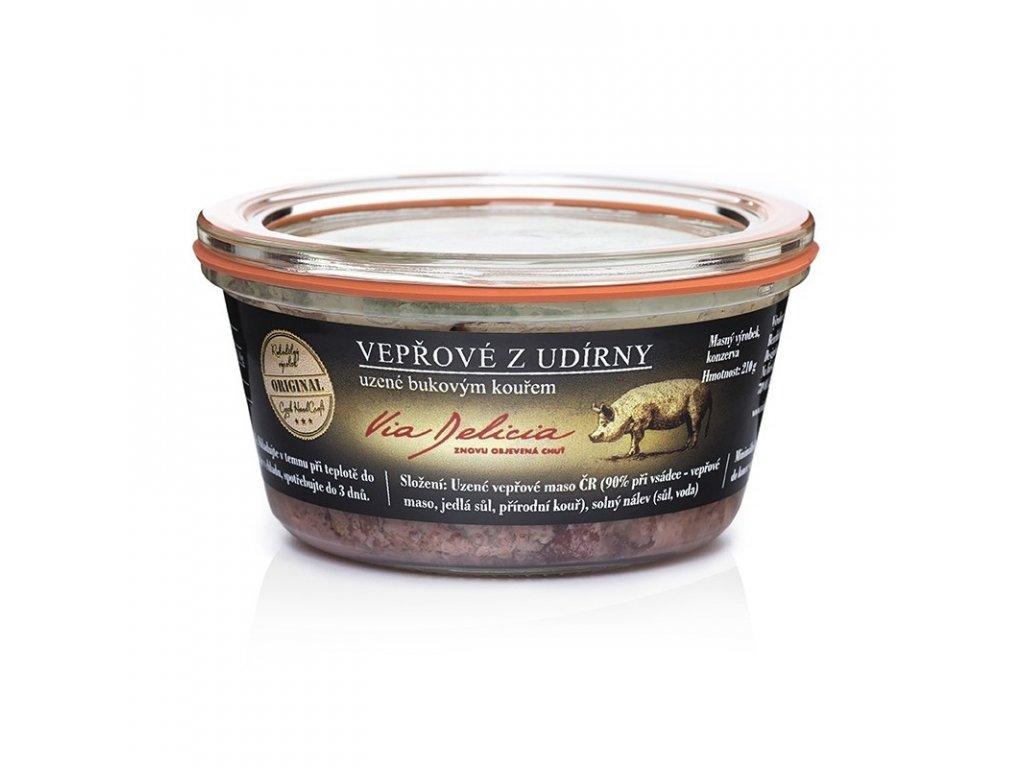 Via Delicia Vepřové maso z udírny bez rychlosolí 230 g