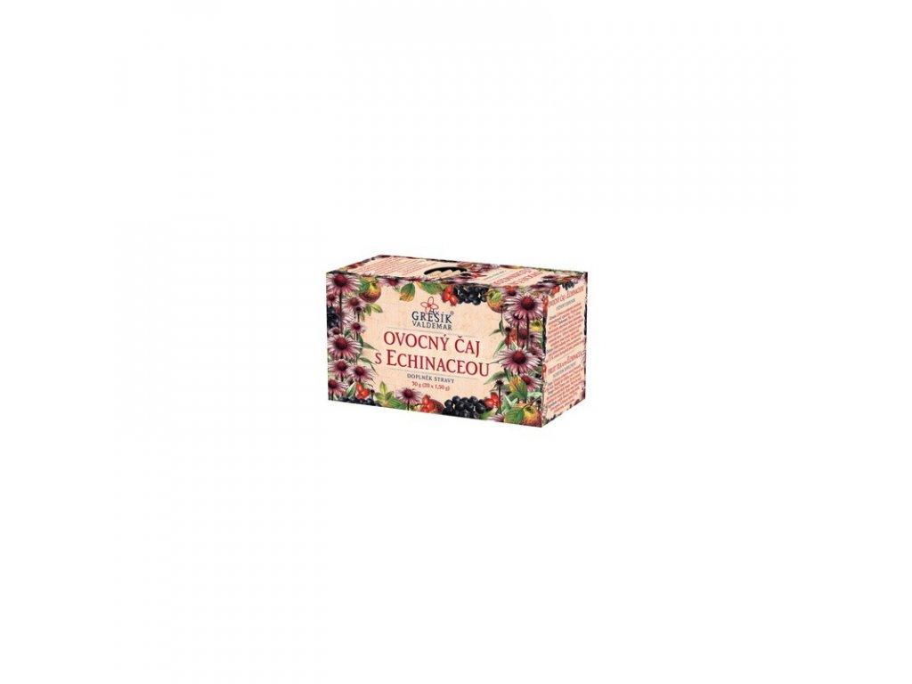 Grešík Čaj ovocný čaj s echinaceou 20 n. s.