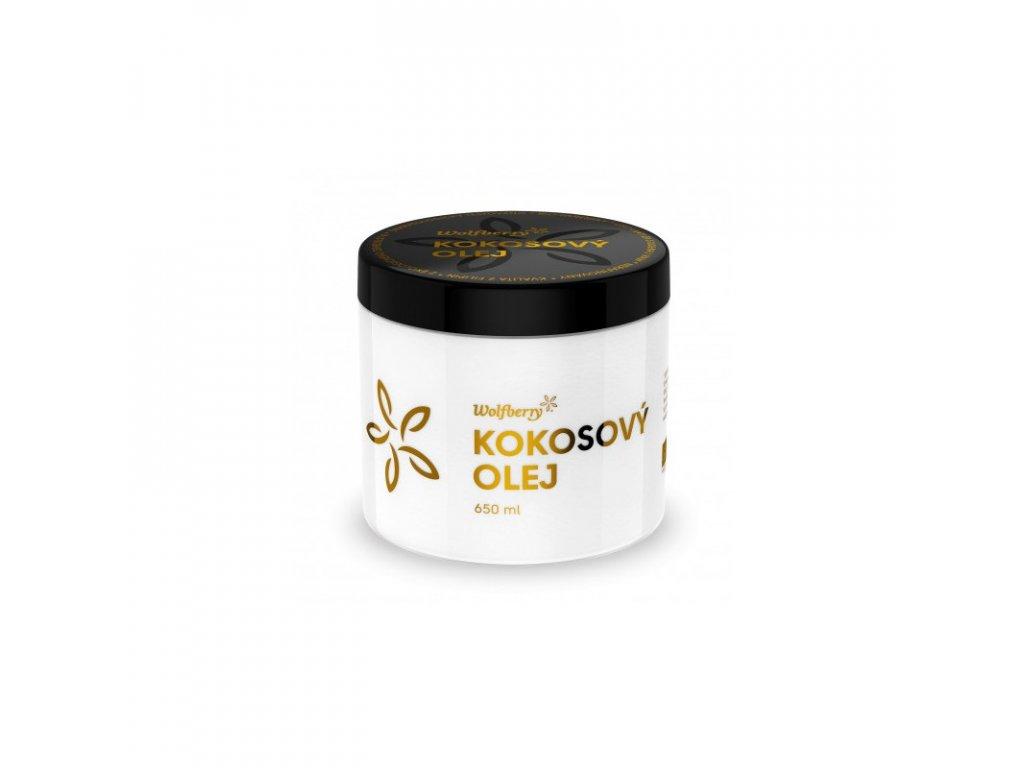 Wolfberry Panenský kokosový olej bio 650 ml