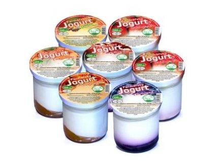 Farmářský jogurt různé příchutě 150 g Farma rodiny Němcovy