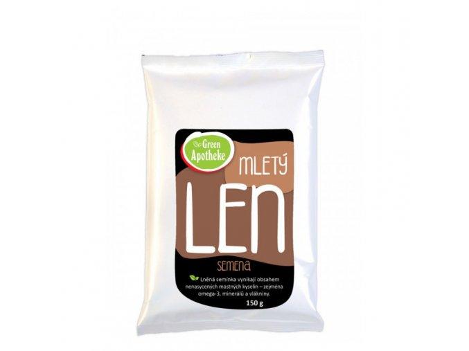Green Apotheke Len hnědý mletý 150 g