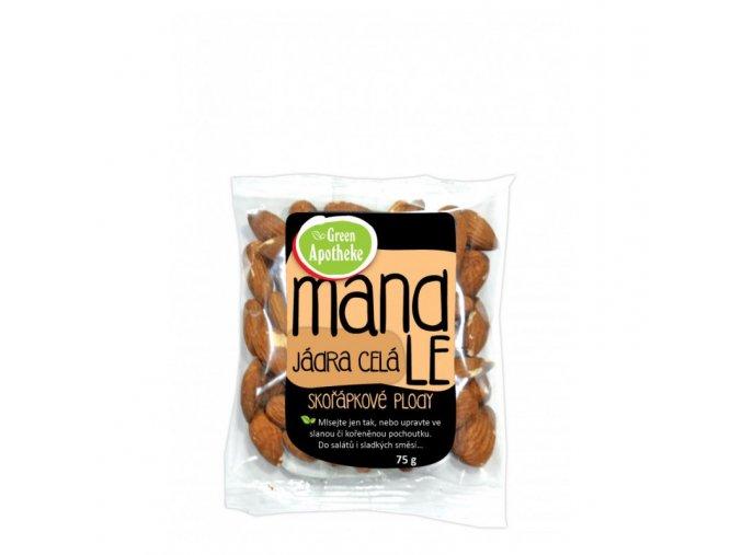 Green Apotheke Mandle jádra natural 75 g